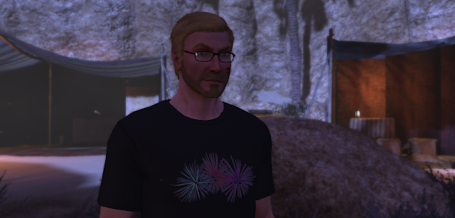 Why, yes. There are fireworks on my shirt.