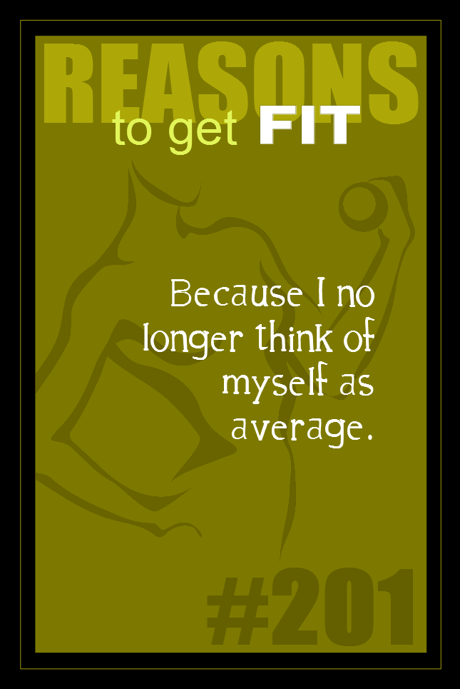 365 Reasons to Get Fit #201