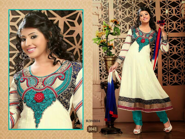Georgette Readymade Anarkali Suits