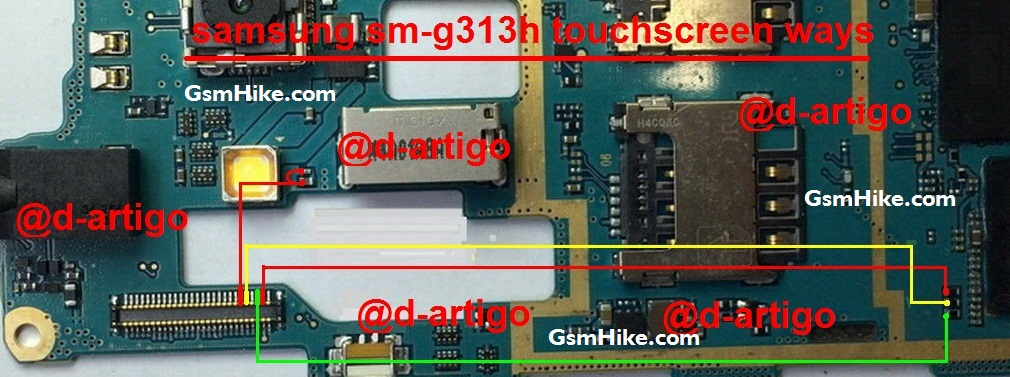G313h touch screen not working samsung g313h touch is missing from