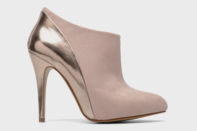 blush pink shoes boots from I Love Shoes at Sarenza