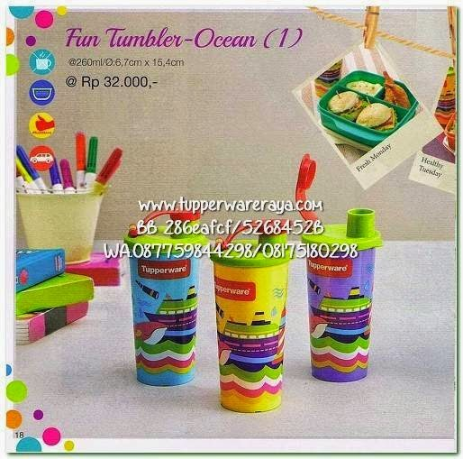 Tupperware Promo April 2015 Tumbler Ocean