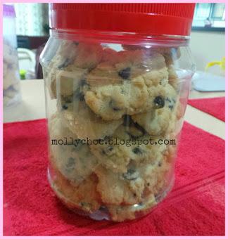 Coklat Chips Cookies