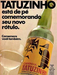 propaganda caninha Tatuzinho - 1975. 1975. propaganda década de 70. Oswaldo Hernandez. anos 70. Reclame anos 70