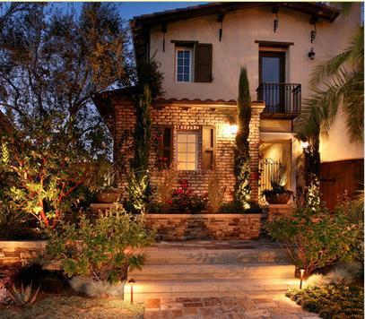 Fachadas de casas decoraciones de casas lujosas - Decoracion de fachadas ...