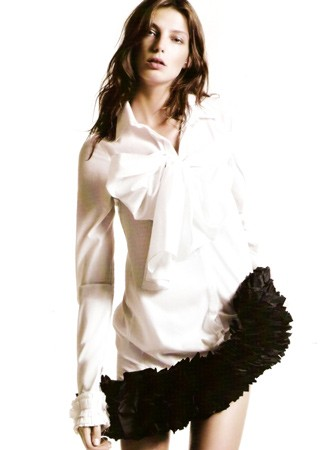 Daria Werbowy, Vogue magazine