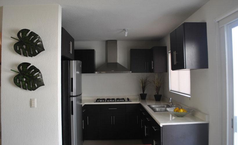 Casas en venta y departamentos casa muestra modelo for Cocina integral 3 metros