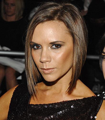 Victoria Beckham Chignon Hairstyle 2012