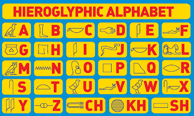 how to write in hieroglyphics For over 5,000 years, people in egypt used hieroglyphs to write their language for most of that time, a scribe would have to learn about 500 signs in order to be.