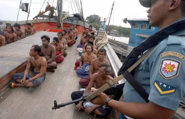 patroli Indonesia dan illegal fishing