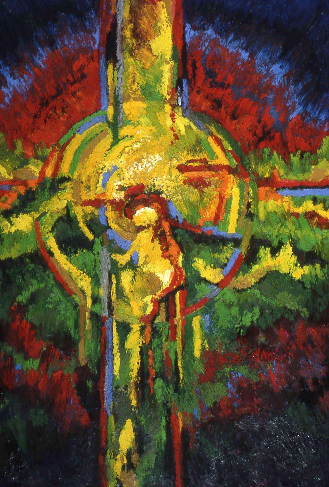 Oil Bars Oil Sticks Painting