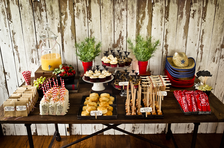 Western Theme Party Decorating Ideas Part - 29: Cowboy Party Part 2 Details Decoration Kellyallison. Western Party Birthday  ...