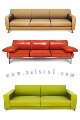 Vecktor Sofa- Kursi tamu