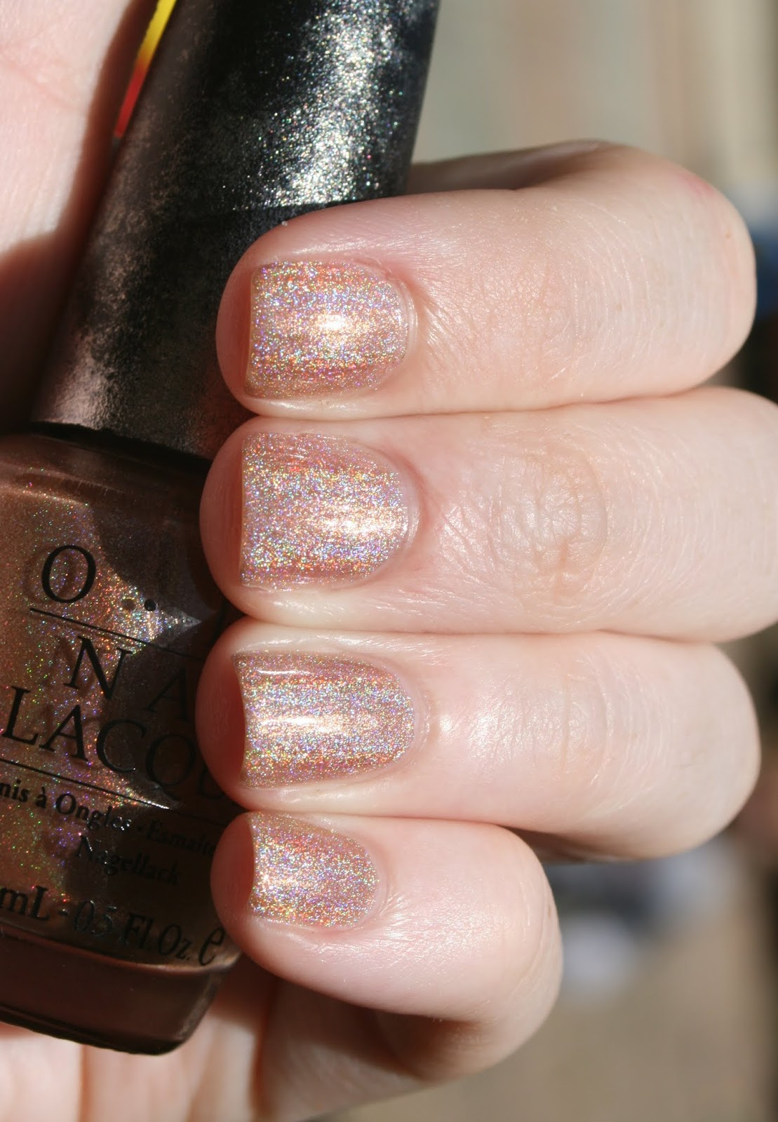 OPI DS Desire swatch