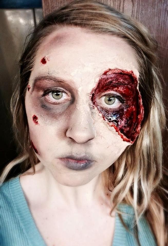 HAIR TODAY , GONE TOMORROW: Halloween Makeup - Living Dead Girl ...