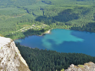 Rattlesnake Lake from the Ledge