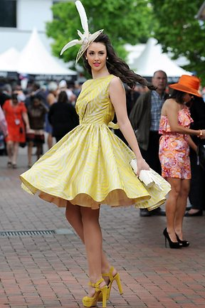 What NOT to do at the races…