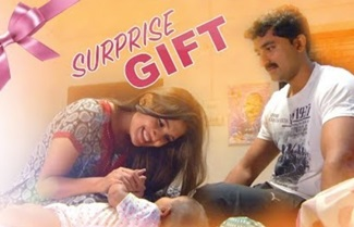 Maha – a GIFT, Sathya – a SURPRISE gift for Prakash
