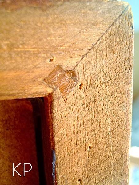 Marcos para espejos de madera ensamblados con cola de milano