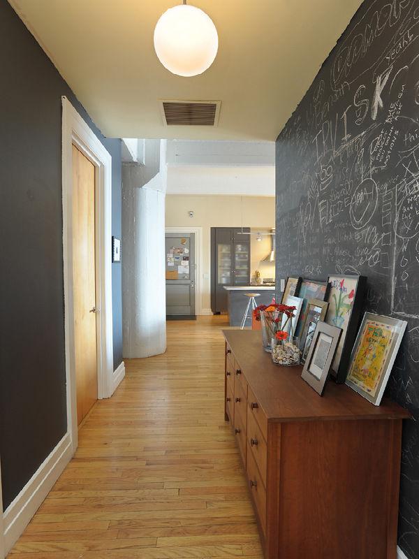 Estilo rustico pasillos rusticos - Decoracion paredes pasillos ...