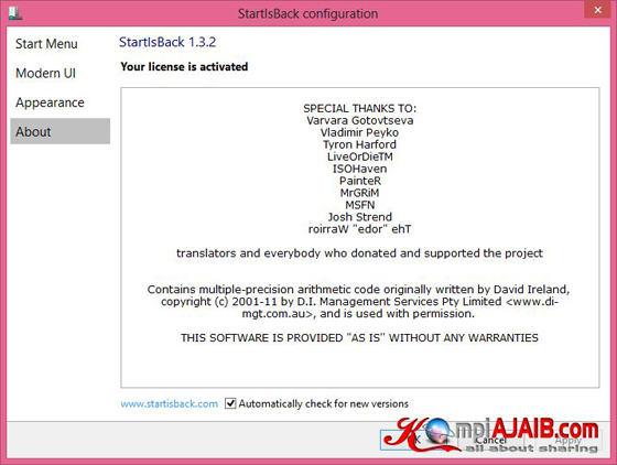 StartIsBack 1.3.2 2014