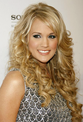 Carrie Underwood – Stormed the musical charts with her singles and albums since 2005.
