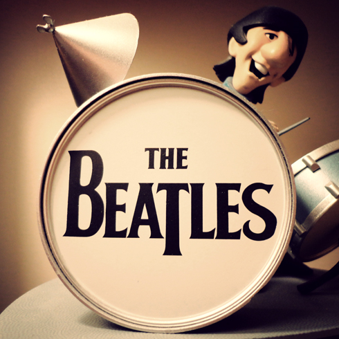 How Could You Just Have One After That Check Out The Beatles Saturday Morning Cartoon Inspired These Figurines Here