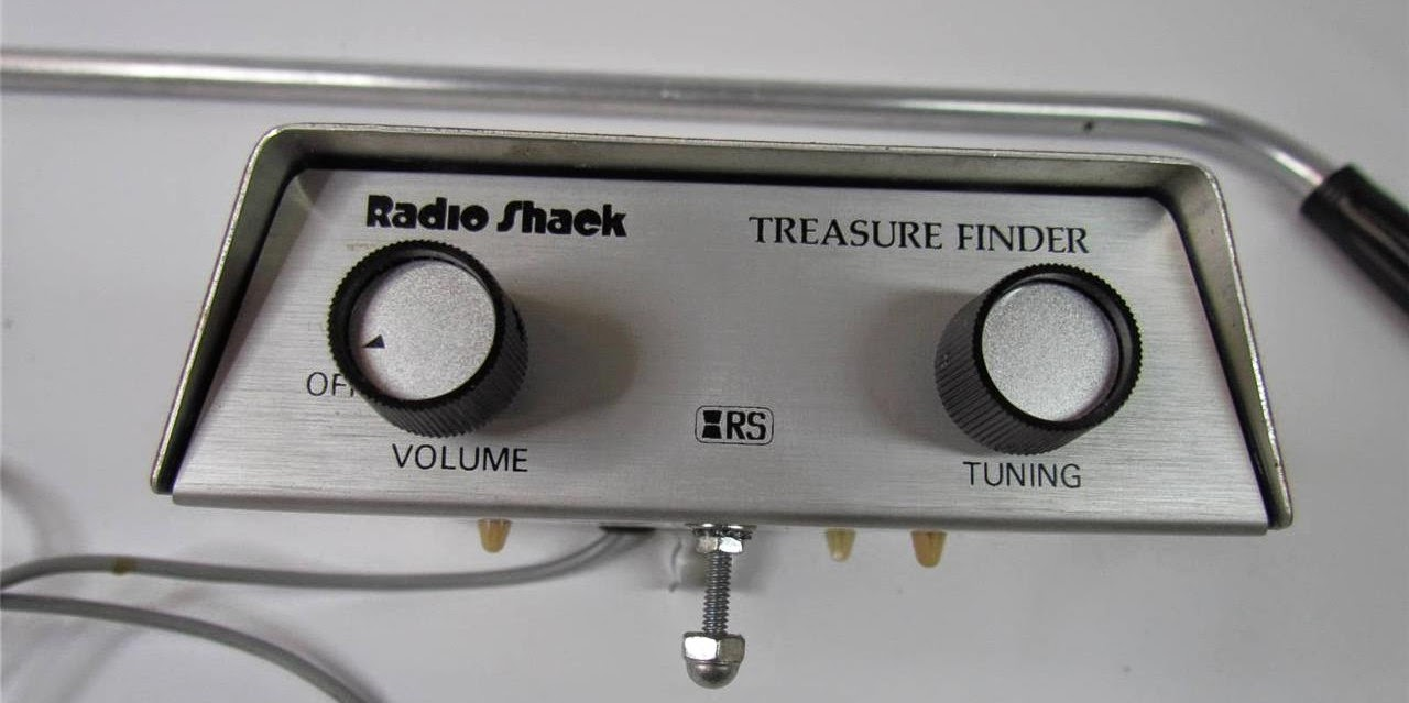 Détecteur métaux Treasure Finder Radio Shack