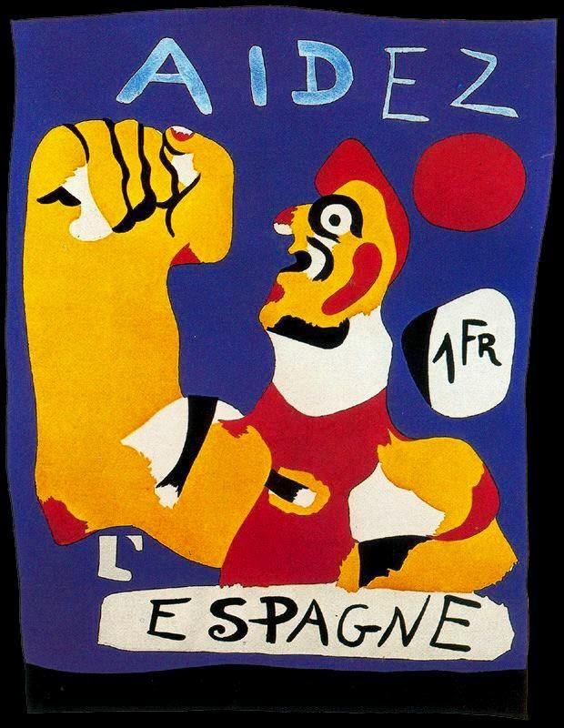 Aidez l'Espagne (Joan Miró, 1937)