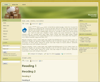 drupal 7 business theme