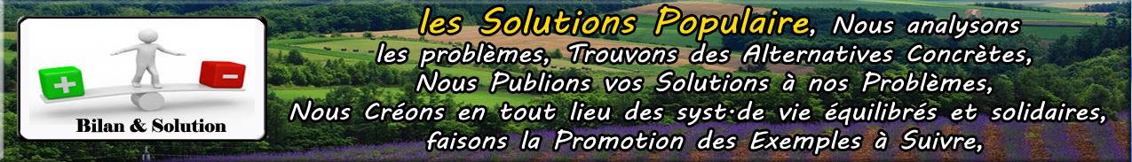 Bilan & Solution