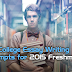 College Essay Writing Prompts for 2015 Freshman