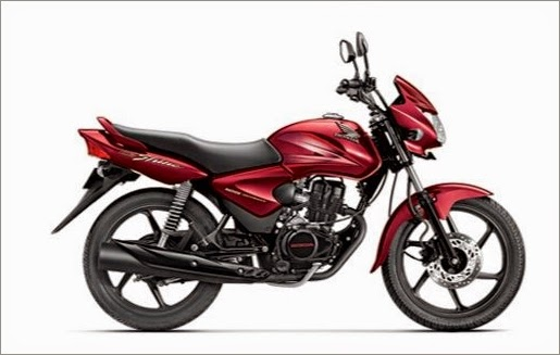 Honda Shine Rebel Red Color