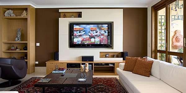 Que tal uma sala de TV ou Home Theater em casa? Sessões de filme
