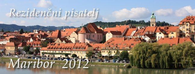 Rezidenčni pisatelj Maribor 2012