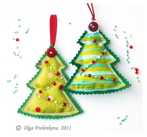 Christmas Tree Decorations To Make : How to make homemade christmas ornaments home decorating