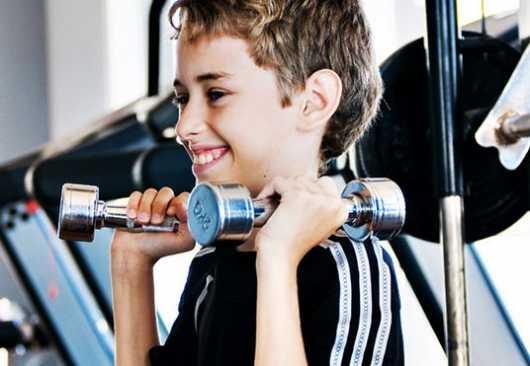 Benefícios da musculação infantil