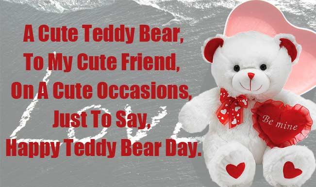Happy valentine happy teddy day 2016 greetings teddy day 2016 greetings m4hsunfo