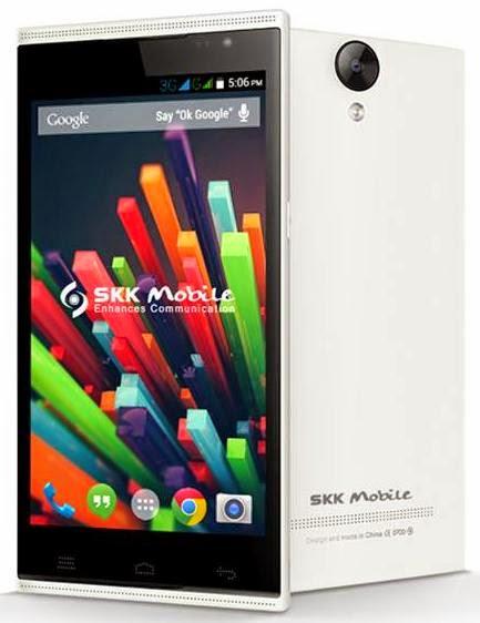SKK Mobile Platinum Lite, 5.5-inch Quad Core KitKat Phablet for Php5,999