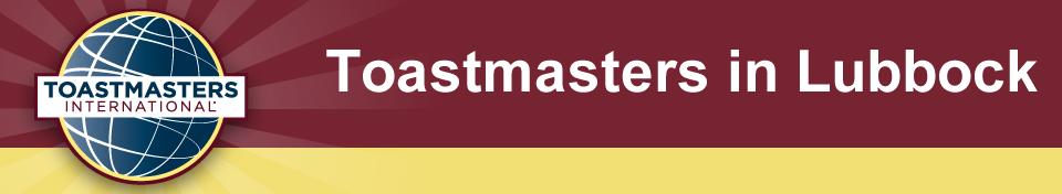 Toastmasters In Lubbock