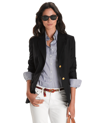 Find women's classic navy blazer at ShopStyle. Shop the latest collection of women's classic navy blazer from the most popular stores - all in one.