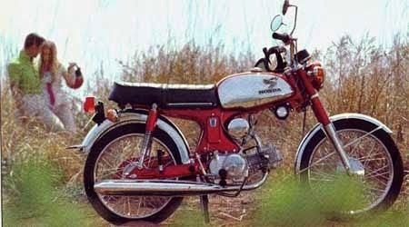 gambar motor Honda pertama