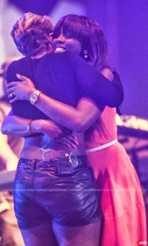 So sweet ; The Moment Mary J Blige Reunited with Tiwa!