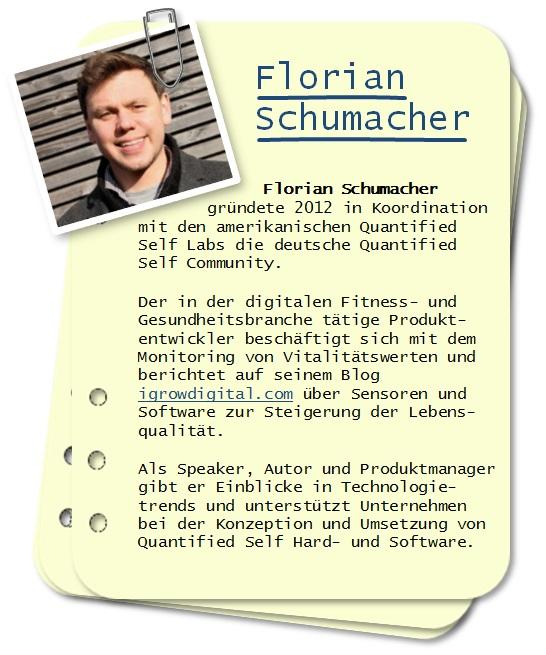 Gründer der deutschen Quantified Self Community