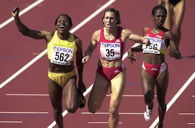 Maria Mutola - Edmonton 2001