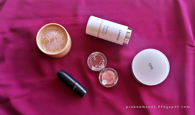 Image of Korean Make-Up - Laneige, Iope, Skin Food, Etude House, The Face Shop - pinknomenal.blogspot.com