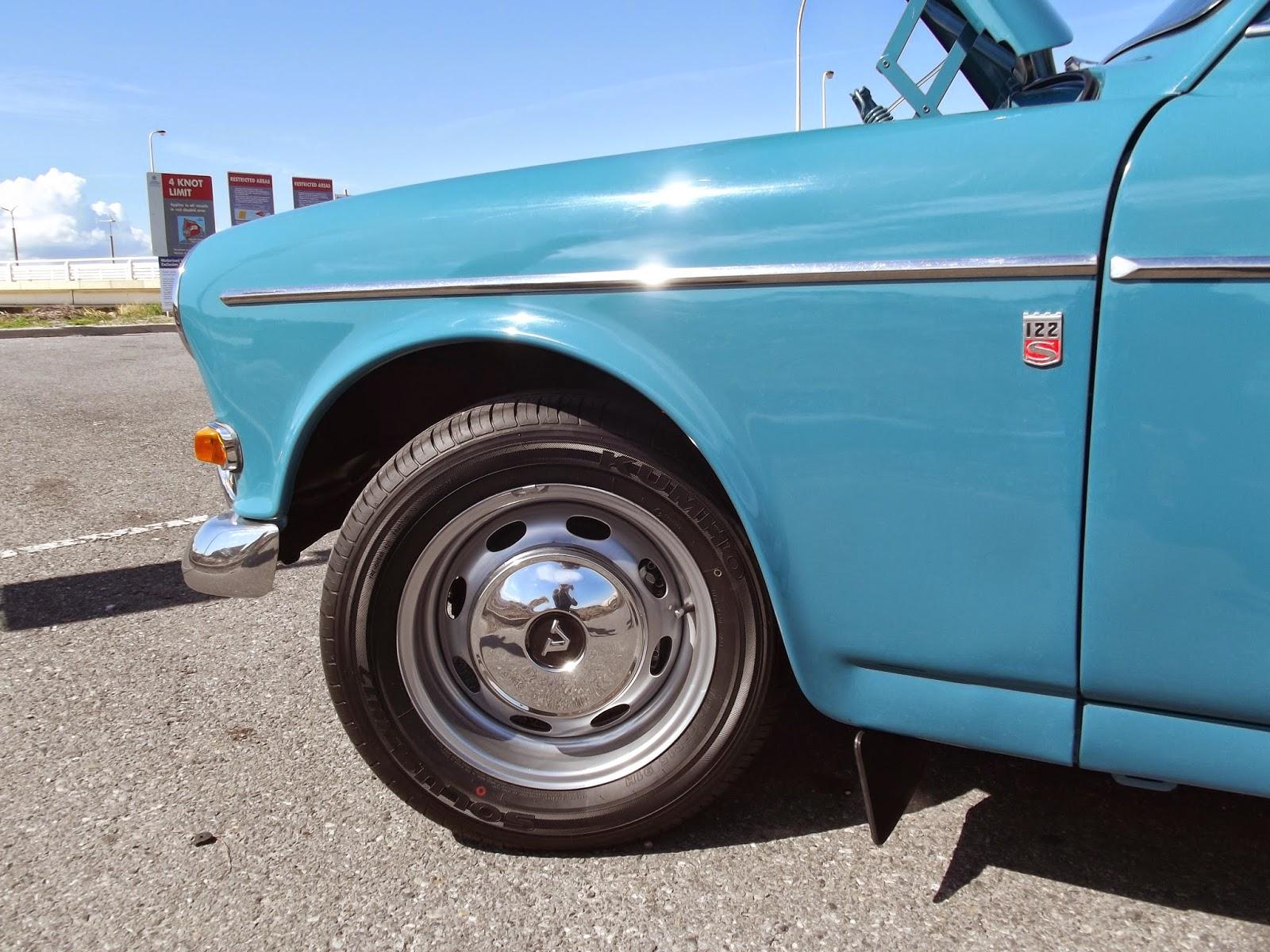 5.5 inch GT wheel Volvo 122S