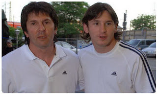 Messi's father is suspected of money laundering related to drug trafficking
