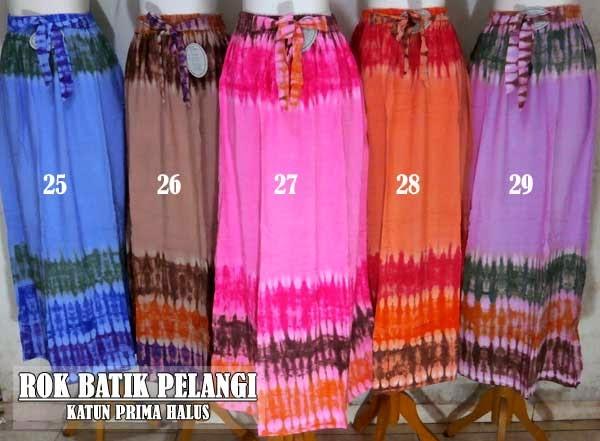 Rok-batik-panjang-modis-motif-pelangi
