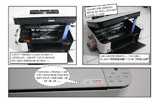 Cara Memasang Sistem Infus Printer Canon MP250
